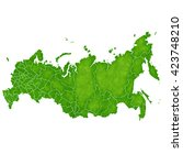 russia map country icon | Shutterstock . vector #423748210