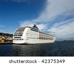 ferry msc opera in stavanger ... | Shutterstock . vector #42375349