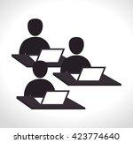 training business design  | Shutterstock .eps vector #423774640