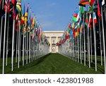 geneva  switzerland   12 march...   Shutterstock . vector #423801988