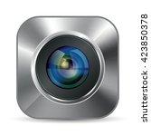 photo app icon   Shutterstock .eps vector #423850378