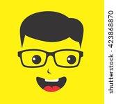 geek | Shutterstock .eps vector #423868870