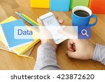 data concept | Shutterstock . vector #423872620