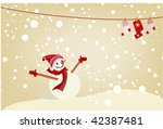 vector christmass background | Shutterstock .eps vector #42387481