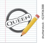 Queen Pencil Effect