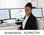 photo of young african stock... | Shutterstock . vector #423942754