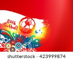 world football championship   Shutterstock .eps vector #423999874