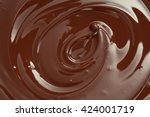 Melted Chocolate Swirl...