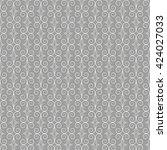 gray pattern. seamless.   Shutterstock .eps vector #424027033