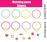 Matching Game. Match The Shape...