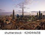 dubai  uae   november 14  2015  ... | Shutterstock . vector #424044658