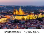 View Of Prague Castle With St....