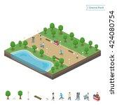 Isometric Central Park   Objec...