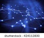 abstract geometry surfaces ... | Shutterstock . vector #424112830