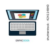 graphic design concept | Shutterstock .eps vector #424114840