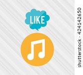 social media design  | Shutterstock .eps vector #424142650