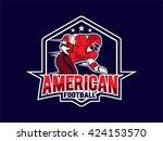 american football | Shutterstock .eps vector #424153570