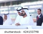 prime minister of uae and the... | Shutterstock . vector #424153798
