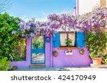 Violet House With Violet...