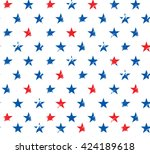 happy 4th of july  ... | Shutterstock .eps vector #424189618