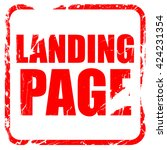landing page  red rubber stamp...