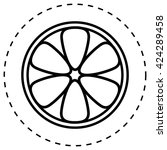 lemon icon vector.