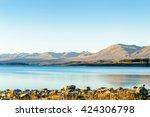 a beautiful scene of the... | Shutterstock . vector #424306798
