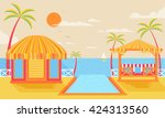 stock vector illustration of... | Shutterstock .eps vector #424313560