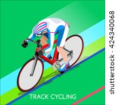 Track Cycling Cyclist Bicyclis...