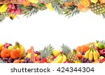 fresh fruit | Shutterstock . vector #424344304