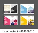 template design  layout ... | Shutterstock .eps vector #424358518