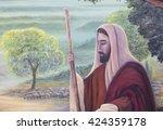 Original Oil Painting Of Jesu...