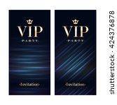 vip club party premium... | Shutterstock .eps vector #424376878