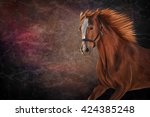 Drawing Of A Horse  Portrait O...