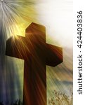 Crucifix With Sunburst...