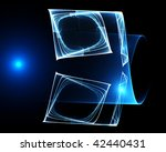 abstract blue background | Shutterstock . vector #42440431