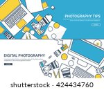 photography equipment with...   Shutterstock .eps vector #424434760