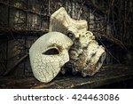 Vintage Venetian Mask With...