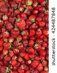 Heap Of Fresh Strawberries As...