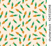 vector seamless pattern with... | Shutterstock .eps vector #424510348