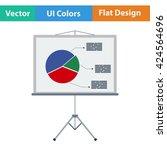 flat design icon of...