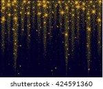 gold glitter texture.gold...   Shutterstock .eps vector #424591360