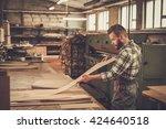 carpenter doing his job in...