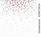 colorful celebration background ... | Shutterstock .eps vector #424675414