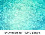 patterns of movement of water... | Shutterstock . vector #424715596