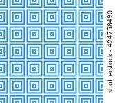 greek key seamless pattern... | Shutterstock . vector #424758490