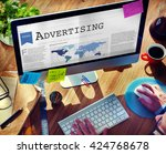 Small photo of Advertising Branding Commerce Promotion Concept