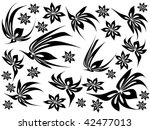 floral background | Shutterstock .eps vector #42477013