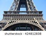 Eiffel Tower Paris Middle...