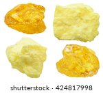 Set Of Various Natural Mineral...